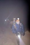 альпинисты Стоковая Фотография