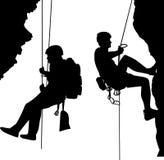 альпинисты Стоковое Изображение RF