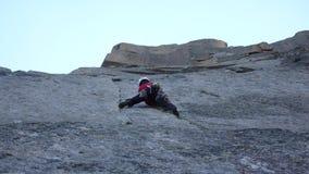 Альпинист в Шамони Стоковые Изображения RF