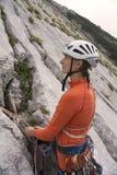 Альпинист женщины Стоковая Фотография RF