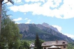 Альпы далеко Стоковое Изображение