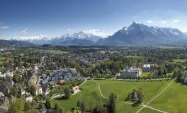 Альпы на Зальцбурге стоковые фотографии rf