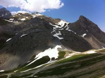 Альпы Провансали в июле Стоковое Изображение