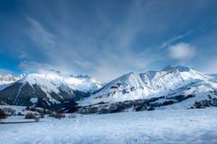 Альпы Стоковая Фотография