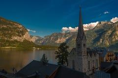 Альпы Hallstatt Стоковое Фото