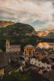 Альпы Hallstatt Стоковые Фото