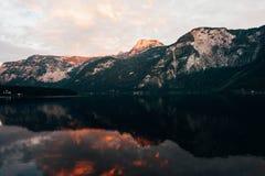 Альпы Hallstatt Стоковое Изображение