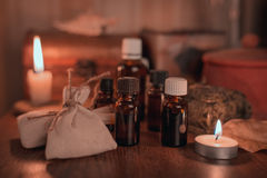 Альтернативная медицина Стоковые Фотографии RF