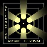 Альтернативный фестиваль кино, фестиваль фильмов кино Стоковое Фото