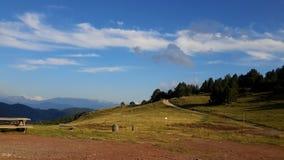 Альты Pirineos, d'Aran Vall Стоковая Фотография RF