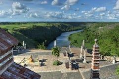Альт de Chavon, Ла Romana, Доминиканская Республика Стоковые Изображения RF