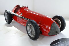 Альфа Romeo гоночный автомобиль monoposto 159 m Стоковые Изображения RF