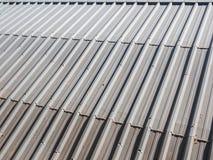 Алюминиевая крыша Стоковые Изображения