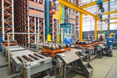 Алюминиевая мастерская фабрики Стоковая Фотография
