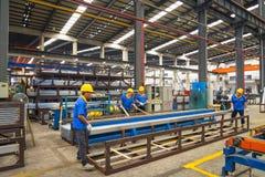 Алюминиевая мастерская фабрики Стоковая Фотография RF
