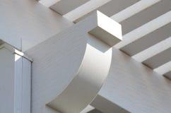 Алюминиевая пергола Стоковая Фотография RF