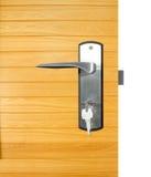 Алюминиевая ручка двери Стоковые Изображения RF