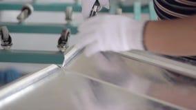 Алюминиевый составной гнуть листа акции видеоматериалы