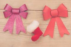 алюминиевым сортированное расположением рождество ведра орнаментирует красный цвет Стоковые Фото