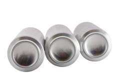 3 алюминиевых опарника Стоковые Изображения