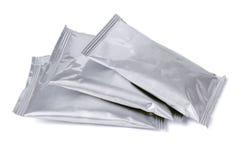 3 алюминиевых саше Стоковое Изображение