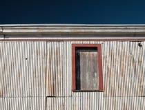 Алюминий встал на сторону старая структура причала в Новой Англии Стоковые Фото