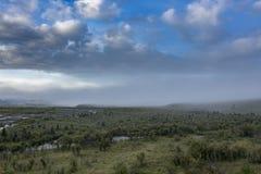 Аляска, последняя граница США Стоковые Фото