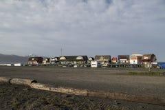 Аляска - путешествия променада почтового голубя, еда, подарки Стоковое фото RF