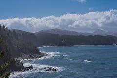 аляскская береговая линия Стоковое Изображение