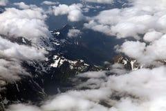аляскские горы Стоковое Изображение RF
