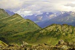 Аляскские холмы Стоковое Изображение