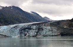 аляскский ледник Стоковая Фотография