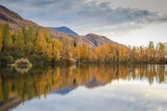 Аляскское падение Стоковые Изображения