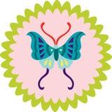 бабочка декоративная Стоковая Фотография RF