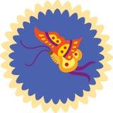 бабочка декоративная Стоковые Фотографии RF