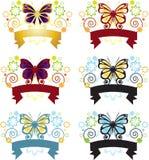 бабочка знамени Стоковые Фото