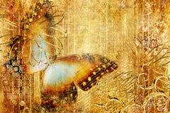 бабочка золотистая бесплатная иллюстрация