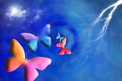 бабочка искусства стоковые фотографии rf