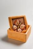 бабочка коробки Стоковые Фотографии RF