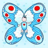 бабочка младенца Стоковое фото RF