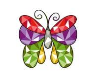 Бабочка самоцвета Стоковая Фотография