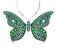 Бабочка самоцвета Стоковое Изображение