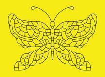 Бабочка также вектор иллюстрации притяжки corel иллюстрация штока