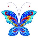 бабочка фантастичная Стоковое фото RF