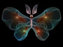 Бабочка цифров Стоковые Фотографии RF