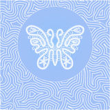 Бабочка шнурка Стоковые Фото
