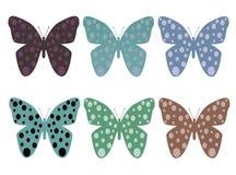 бабочка 02 Стоковые Фотографии RF