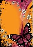 бабочка 2 Иллюстрация вектора