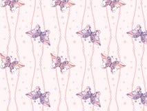 бабочка 3 безшовная Стоковые Изображения RF