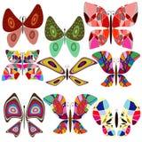 бабочка baccground безшовная Стоковые Фото